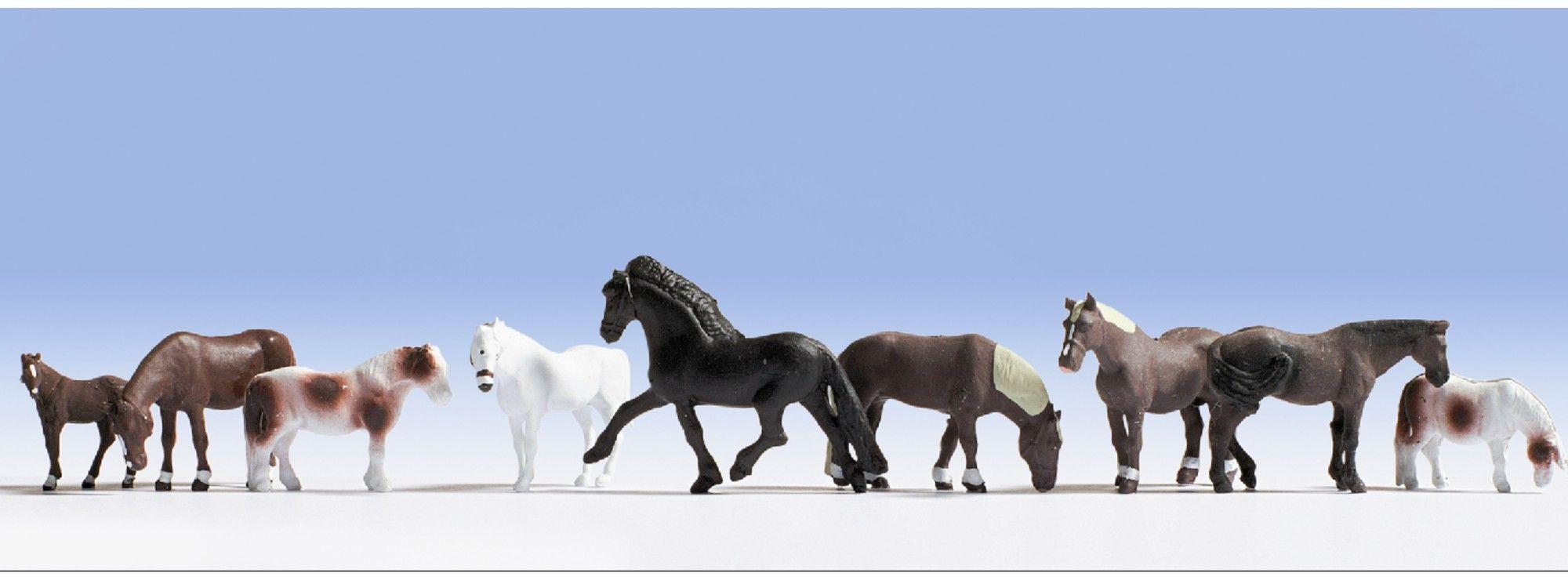 15761 OVP Spur H0 1 Set Pferde  Art.-Nr