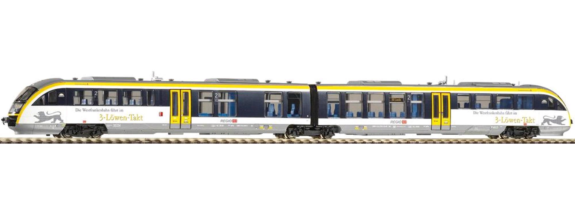 PIKO 52288 Triebwagen Desiro BR642 Westfrankenbahn,AC-Version,Ep.VI H0