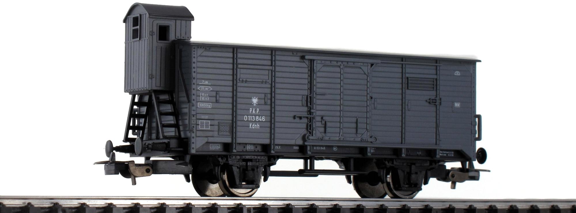 Piko 58928 Gedeckter Güterwagen PKP H0