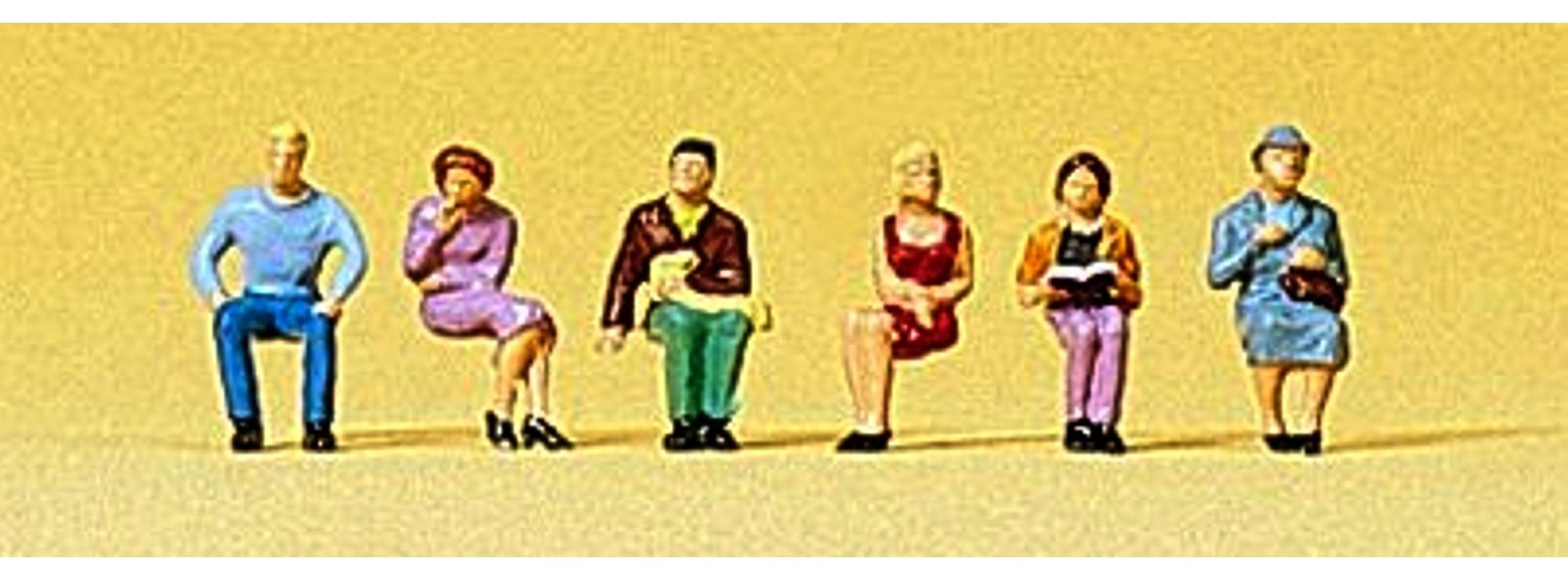 NEUWARE! Sitzende Personen Preiser Spur Z 88525