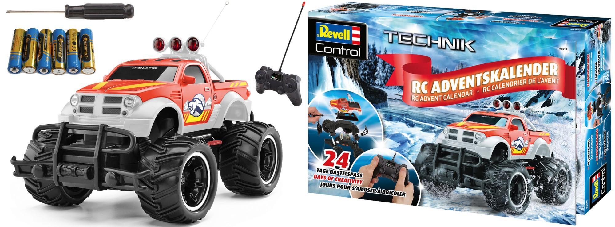 Revell Weihnachtskalender.Revell 01019 Adventskalender 2018 Rc Car Revell Control Rc Spielzeug