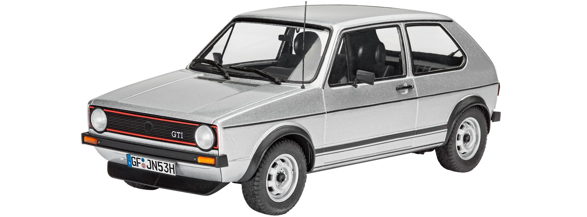 revell 07072 vw golf 1 gti auto bausatz 1 24 online. Black Bedroom Furniture Sets. Home Design Ideas