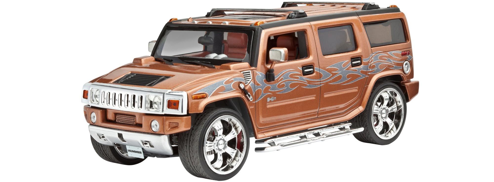 revell 07186 general motors hummer h2 auto bausatz 1 25 online kaufen bei modellbau h rtle. Black Bedroom Furniture Sets. Home Design Ideas