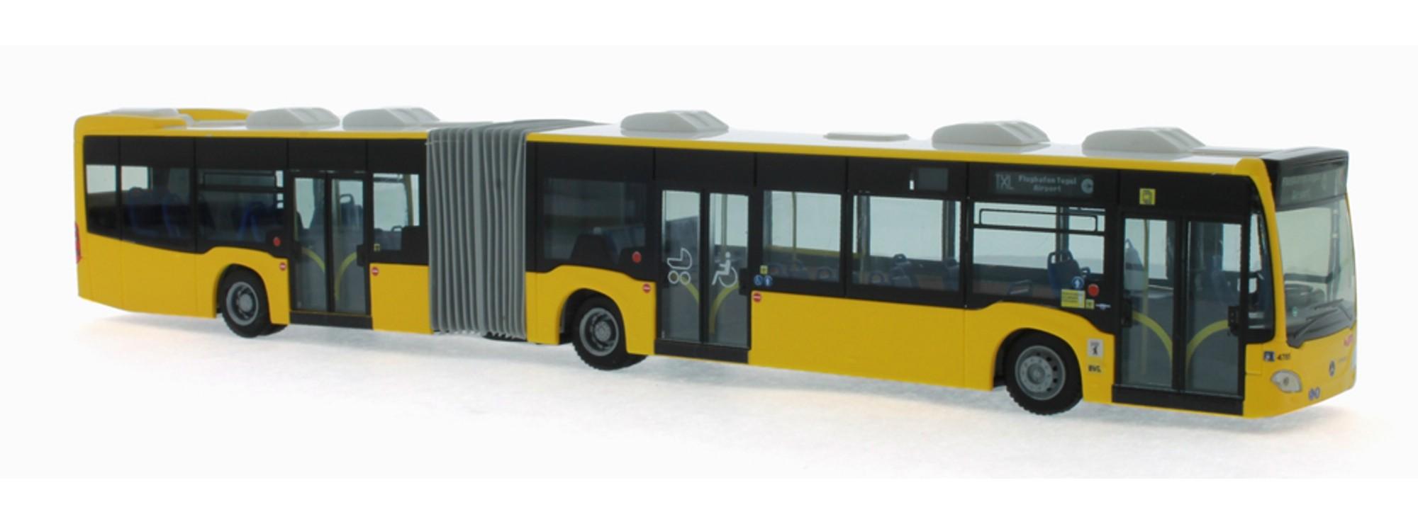 2015 Bvg Berlin 1:87 H0 Rietze 73643 Mercedes-benz Citaro G