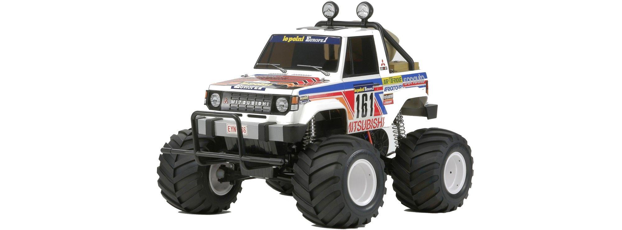 ausverkauft | tamiya 300058499 mitsubishi montero wheelie 2wd