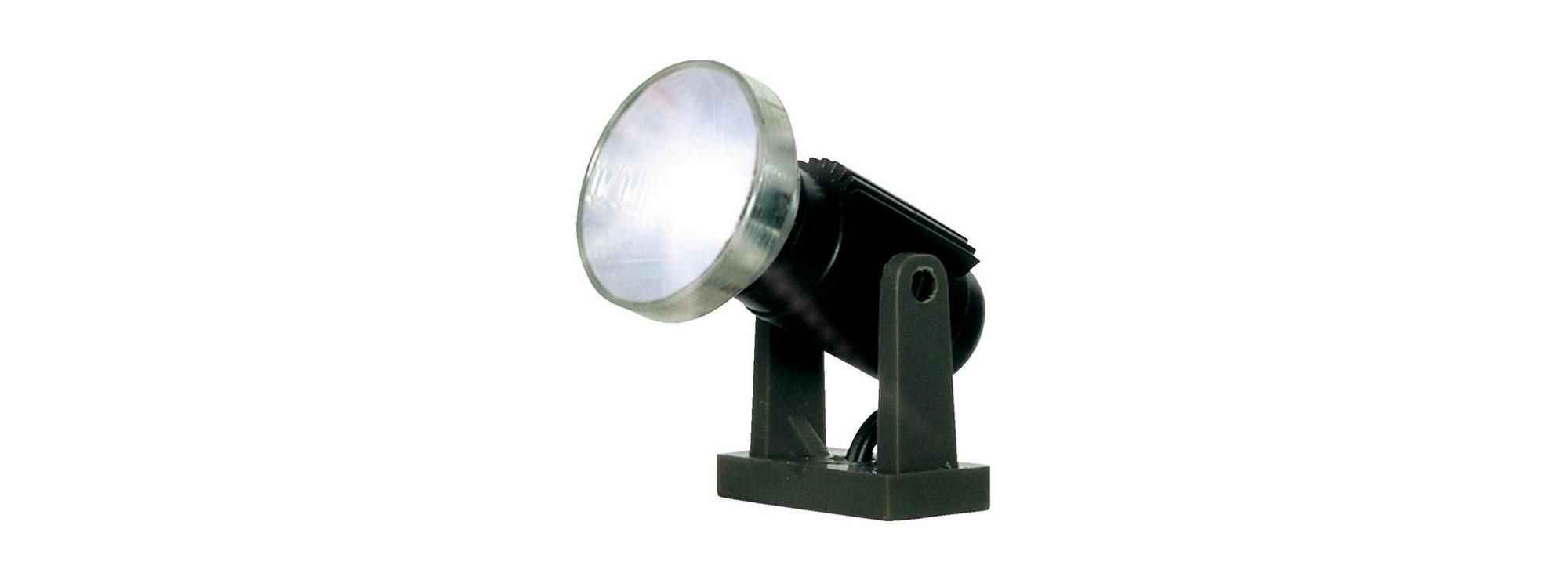 Viessmann 6530 Flutlichtstrahler Nieder LED | Beleuchtung Spur N/H0
