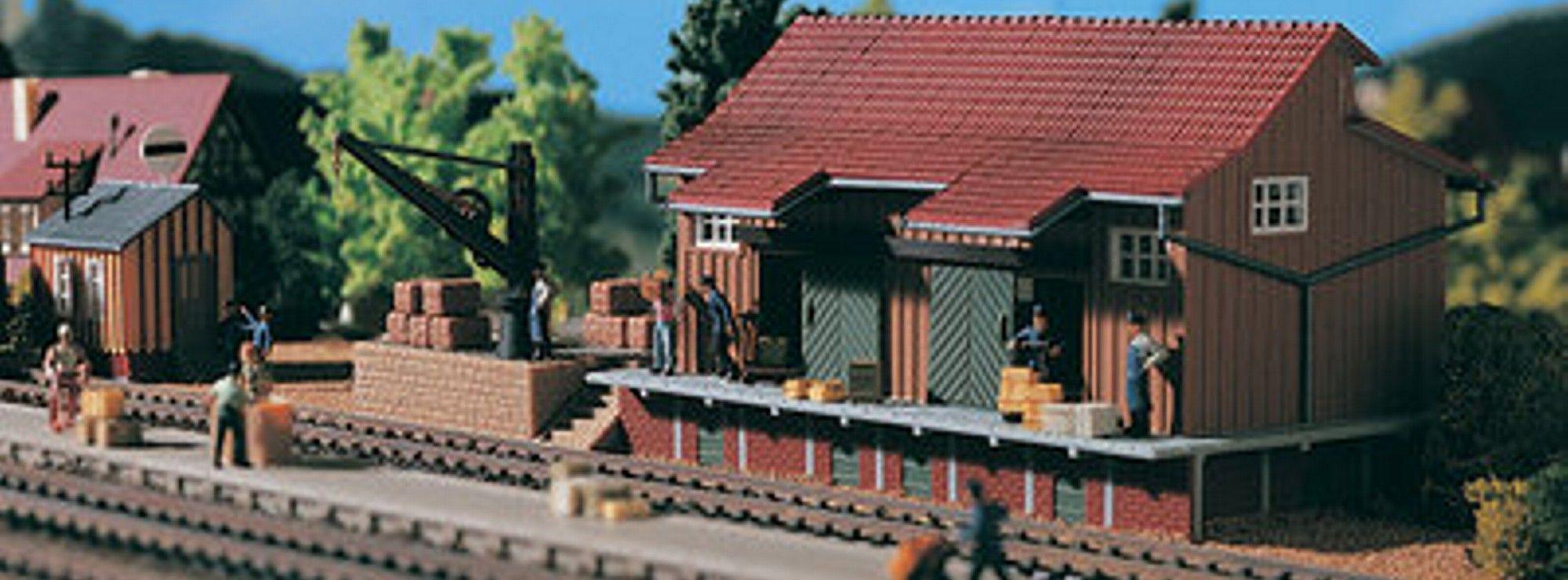 Vollmer 5701 Güterschuppen Bausatz H0 1:87