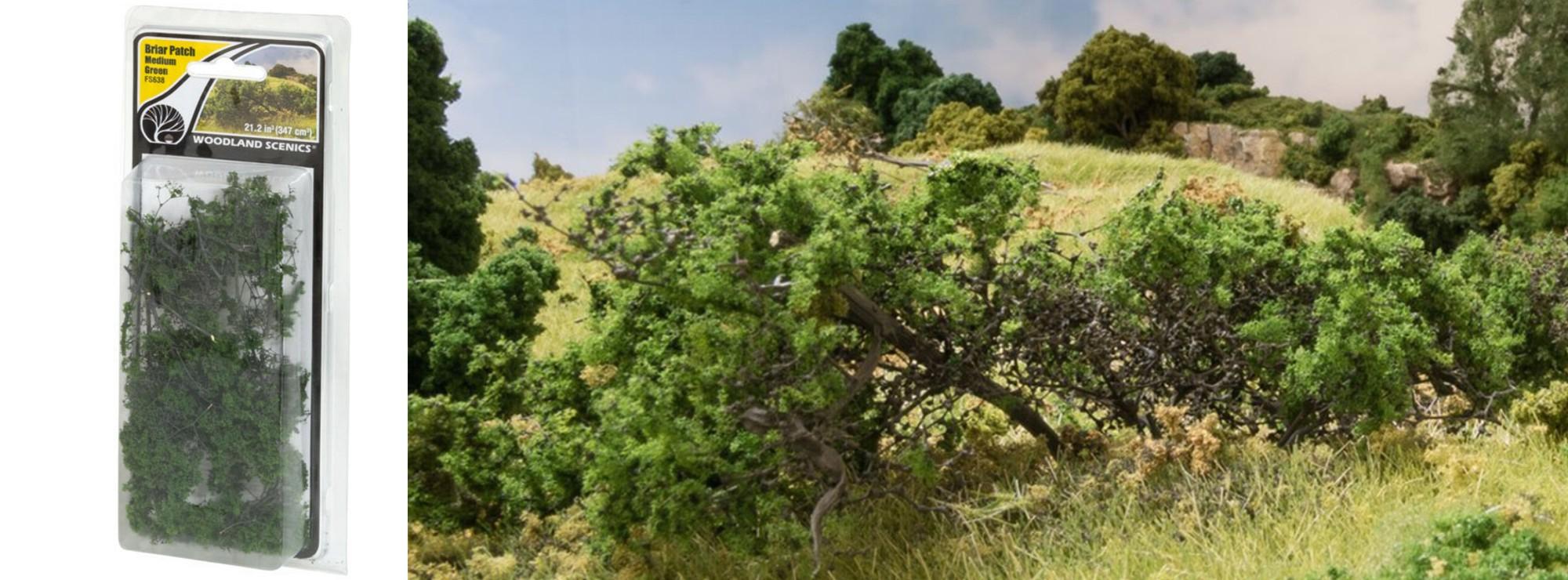 Sträucher Büsche Dickicht Woodland Scenics® FS63 Briar Patch für Hecken