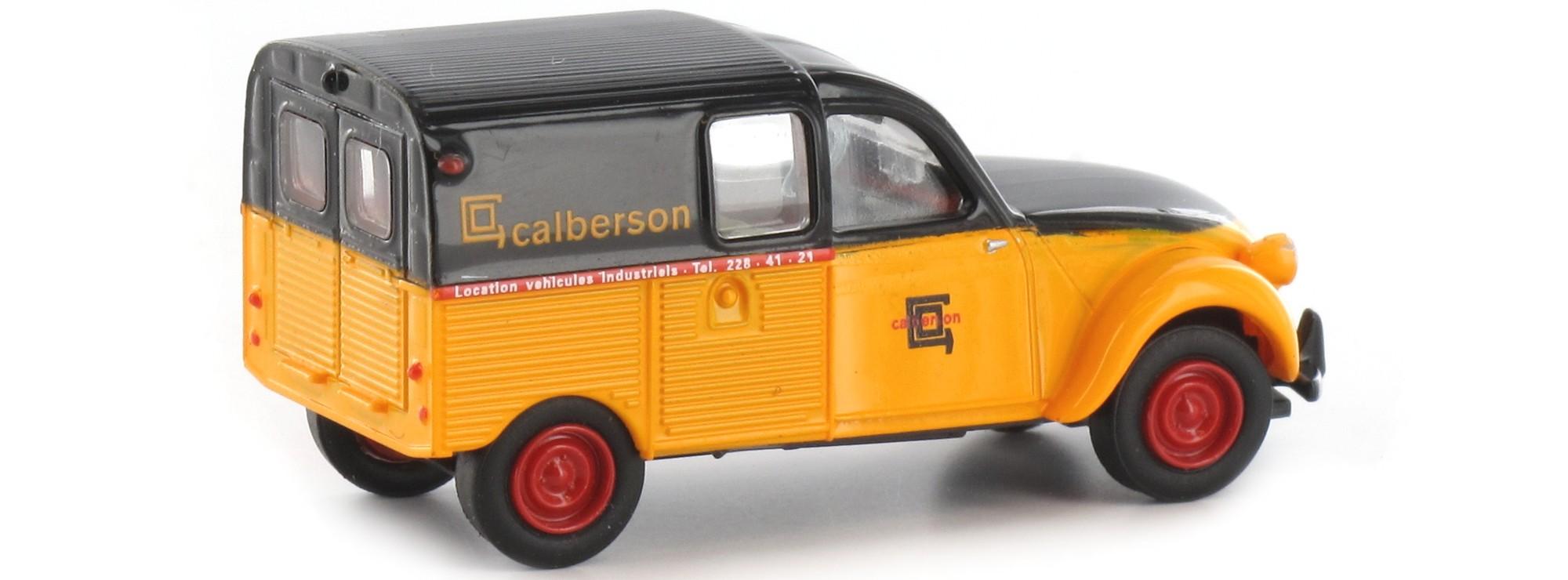 1//87 Brekina Citroen 2CV Kastenente Calberson 14169