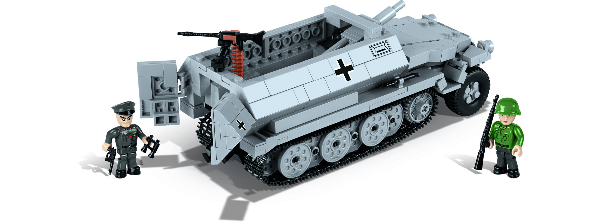 Cobi 2472a Sdkfz 2519 Ausf C Stummel Mod 1942 Panzer