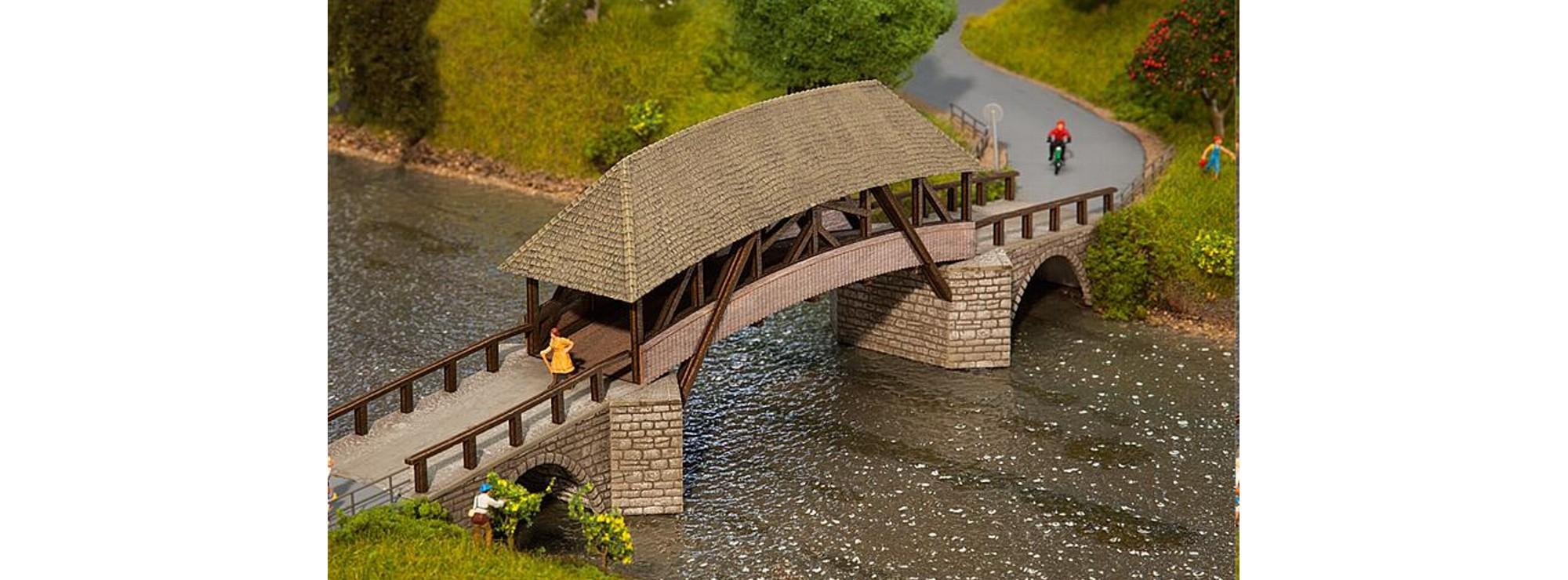 FALLER 120494 Alte Holzbrücke Bausatz H0