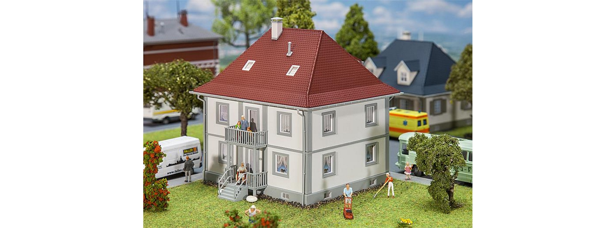 Faller 130460 Wohnhaus Bachstraße 5