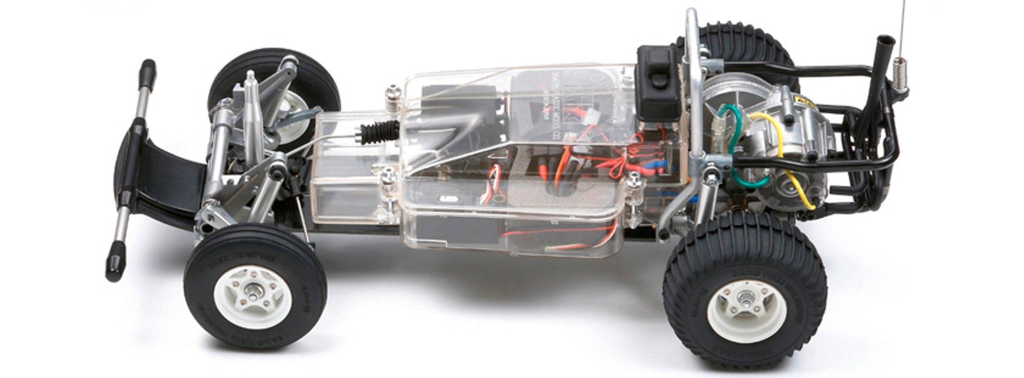 Tamiya 1//10 Aluminium Heckstoßstange Schutz Für Sand Scorcher Super Kauen Buggy
