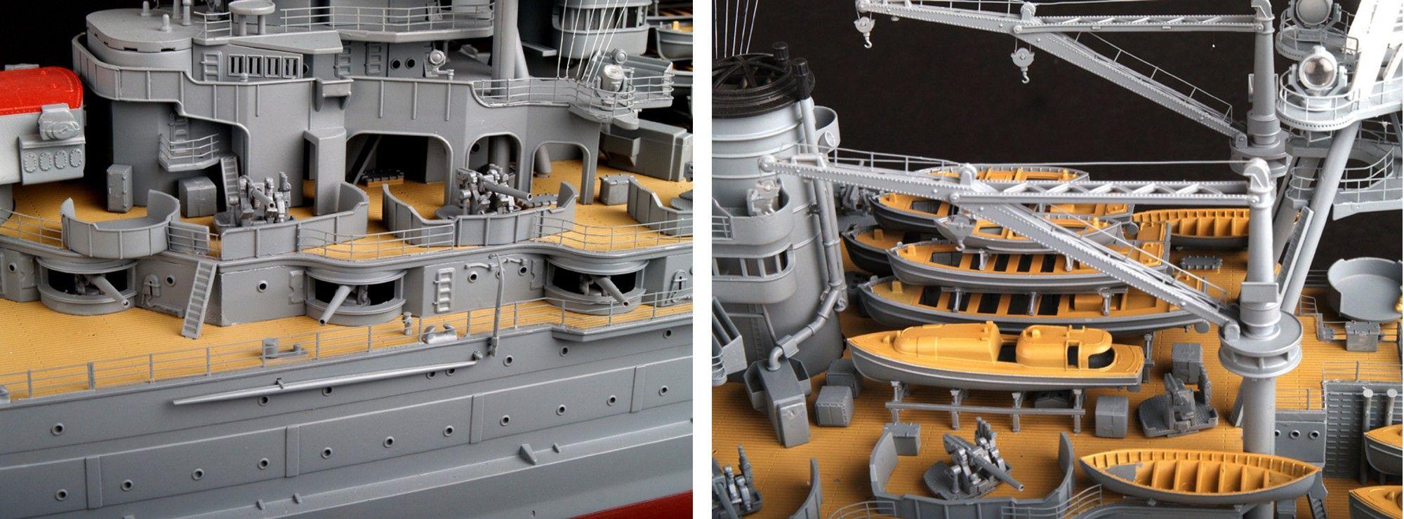 Trumpeter 03701 Modellbausatz USS Arizona BB-39
