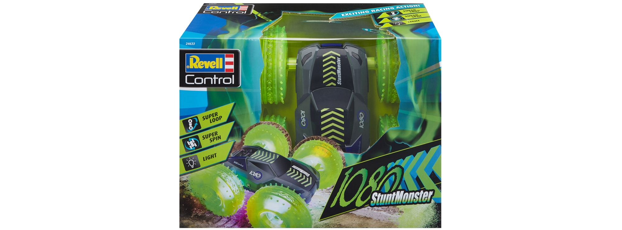 Elektrisches Spielzeug ab 8 Jahre REVELL 24633 RC Car StuntMonster 1080