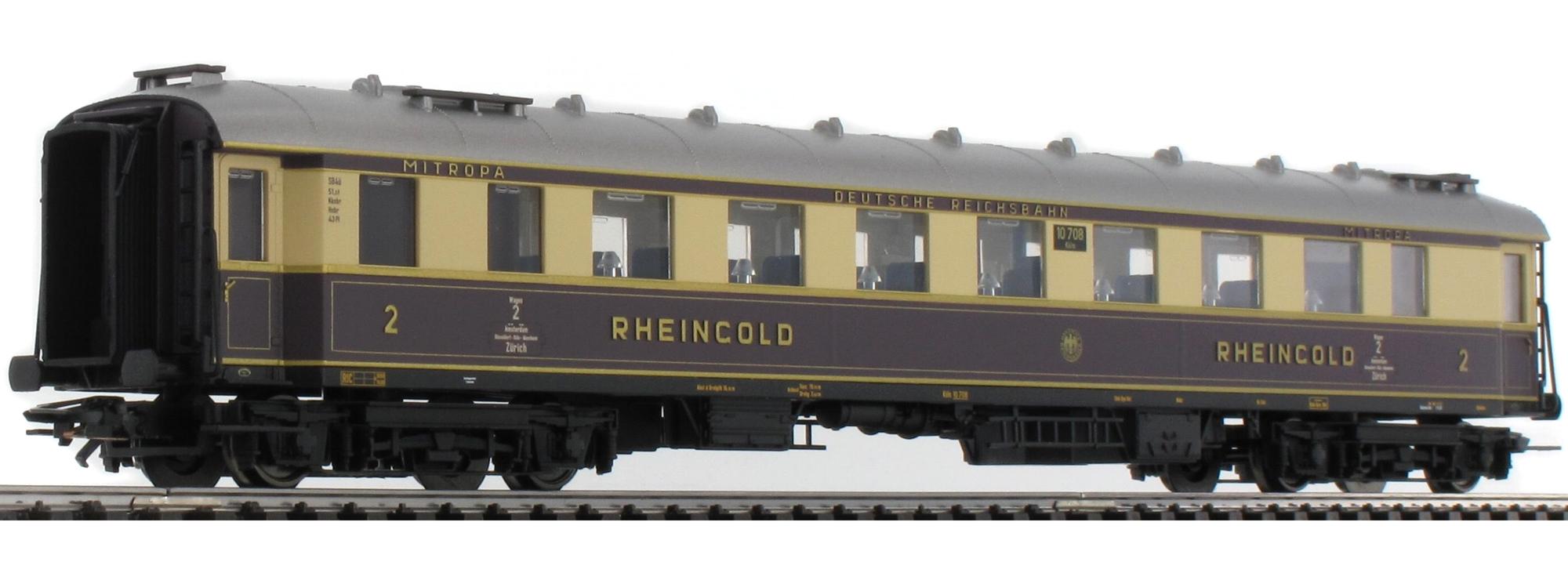 TRIX t21928 zugpackung Rheingold 1928