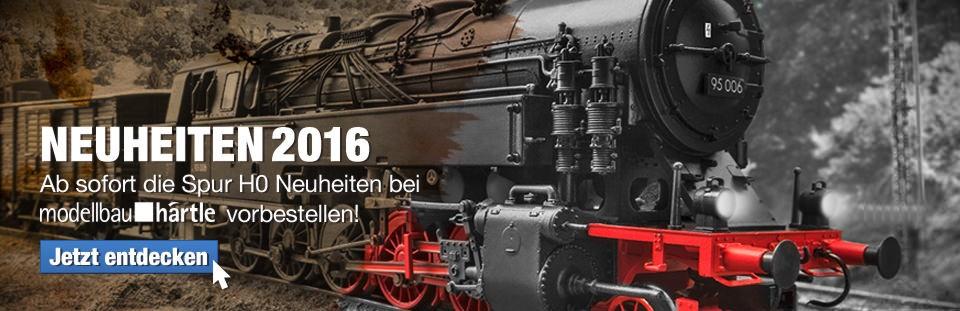 Banner 2016 H0 Neuheiten